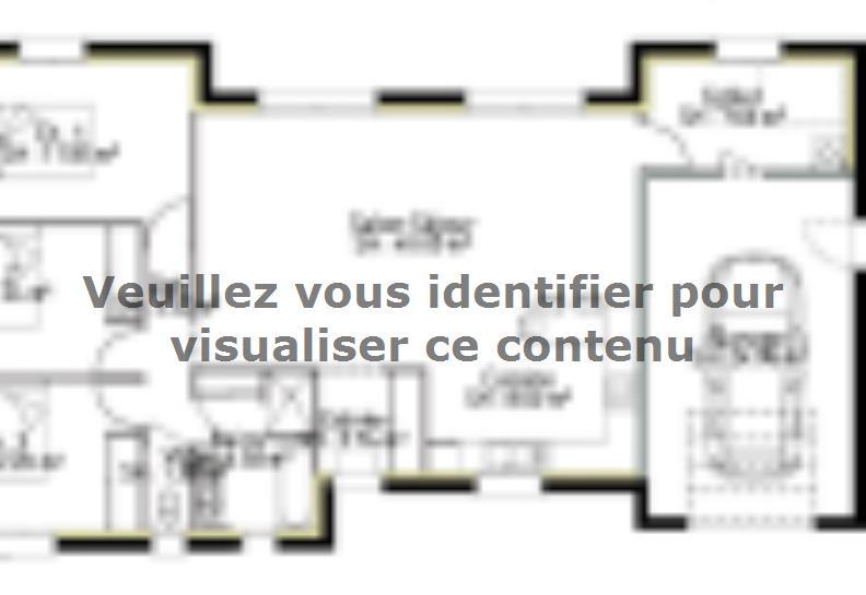Plan de maison PP115_P2040 : Vignette 1