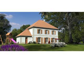Présentation d'un bel AVP, une grande maison neuve avec le charme de l'ancien