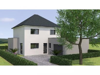 Modèle de maison R121122-3GA 3 chambres  : Photo 1