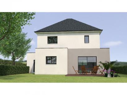 Modèle de maison R121122-3GA 3 chambres  : Photo 2
