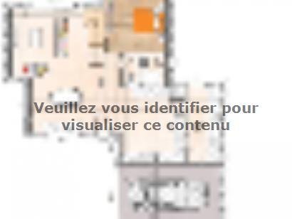 Plan de maison R121122-3GA 3 chambres  : Photo 1