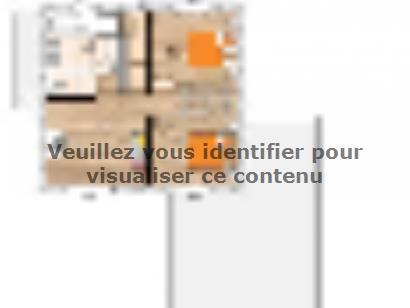 Plan de maison R121122-3GA 3 chambres  : Photo 2
