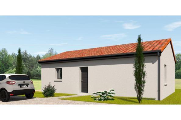 Modèle de maison PP70_P2063 2 chambres  : Photo 2
