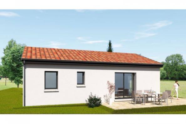 Modèle de maison PP70_P2063 2 chambres  : Photo 3