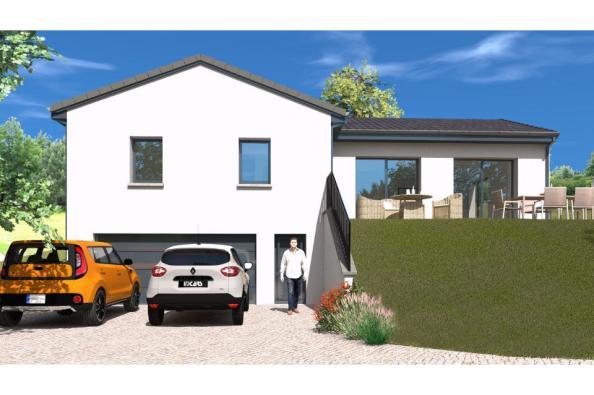 Modèle de maison SS110_P2134V2 4 chambres  : Photo 1