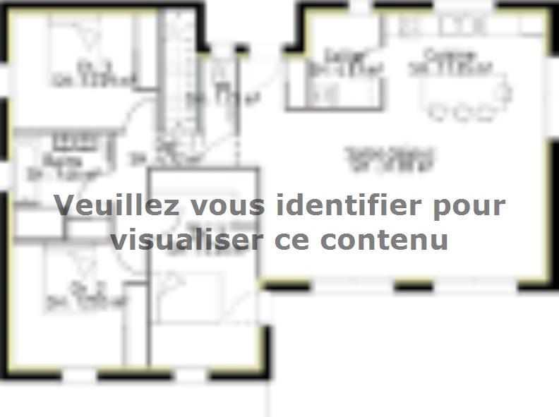 Plan de maison SS110_P2134V2 : Vignette 1