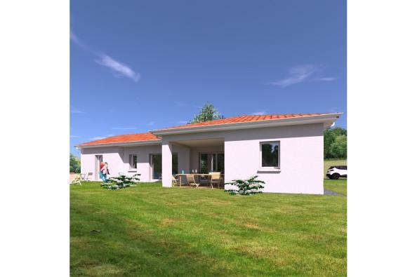 Modèle de maison PP135_P2081V2 4 chambres  : Photo 2