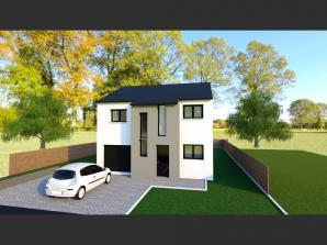 Maison neuve à Pommérieux (57420)<span class='prix'> 239000 €</span> 239000