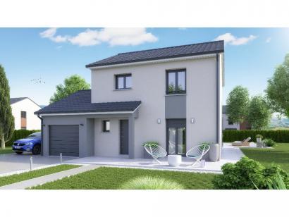 Maison neuve  à  Pommérieux (57420)  - 247000 € * : photo 1