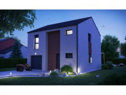 Maison neuve  à  Pommérieux (57420)  - 228500 € * : photo 1