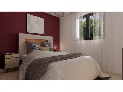 Modèle de maison Plain-pied GA 2 ch Design 2 chambres  : Photo 5