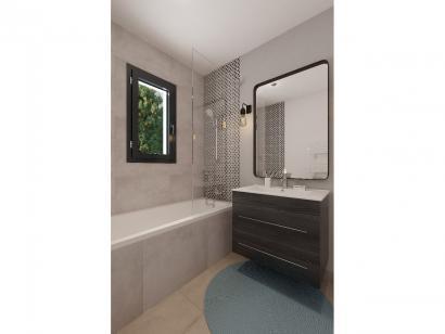 Modèle de maison Plain-pied GA 2 ch Design 2 chambres  : Photo 7