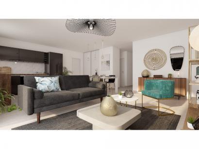 Modèle de maison Plain-pied GA 3 ch Design 3 chambres  : Photo 3