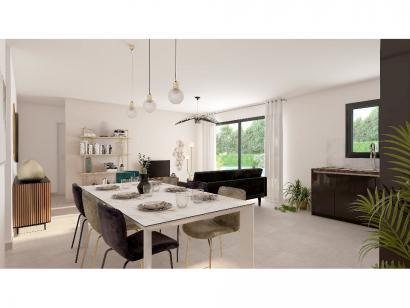 Modèle de maison Plain-pied GA 3 ch Design 3 chambres  : Photo 4