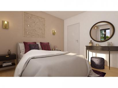 Modèle de maison Plain-pied GA 3 ch Design 3 chambres  : Photo 6