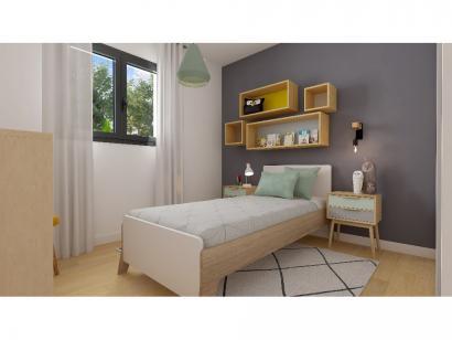 Modèle de maison Plain-pied GA 3 ch Design 3 chambres  : Photo 8