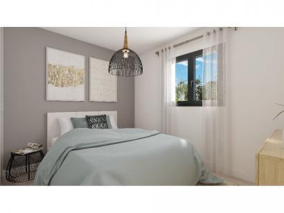 Modèle de maison Plain-pied GI 2 ch Design 2 chambres  : Photo 6