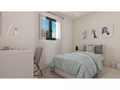 Modèle de maison Plain-pied GI 2 ch Design 2 chambres  : Photo 7