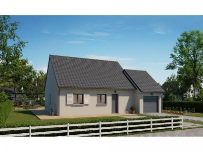 Modèle de maison Plain-pied GA 2 ch Trendy 2 chambres  : Photo 1