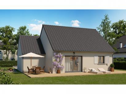 Modèle de maison Plain-pied GA 2 ch Trendy 2 chambres  : Photo 2