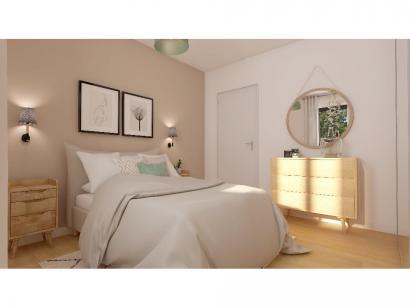 Modèle de maison Plain-pied GA 3 ch Trendy 3 chambres  : Photo 6