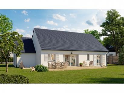 Modèle de maison Plain-pied GA 4 ch Trendy 4 chambres  : Photo 2