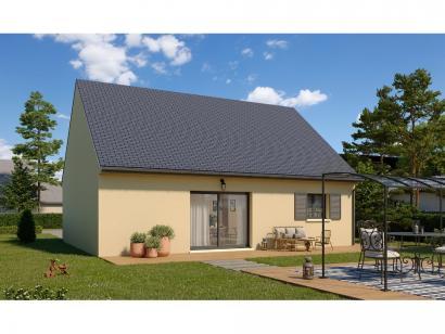 Modèle de maison Plain-pied GI 2 ch Trendy 2 chambres  : Photo 2