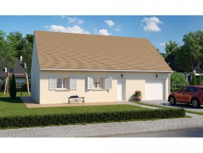 Modèle de maison Plain-pied GI 3 ch Trendy 3 chambres  : Photo 1