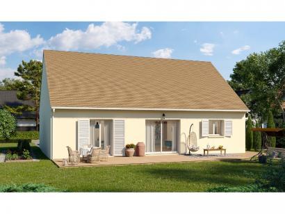 Modèle de maison Plain-pied GI 3 ch Trendy 3 chambres  : Photo 2