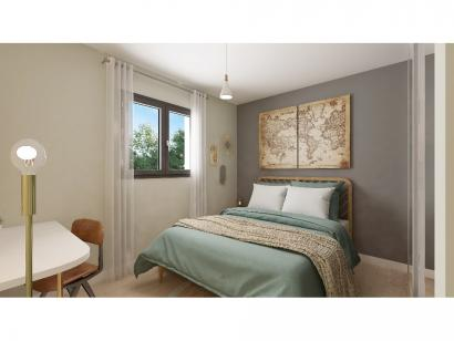 Modèle de maison Plain-pied GI 3 ch Trendy 3 chambres  : Photo 7