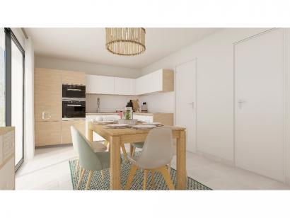 Modèle de maison Plain-pied GI 4 ch Trendy 4 chambres  : Photo 5