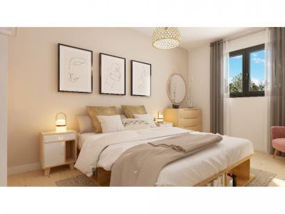 Modèle de maison Plain-pied GI 4 ch Trendy 4 chambres  : Photo 6