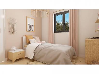 Modèle de maison Plain-pied GI 4 ch Trendy 4 chambres  : Photo 9