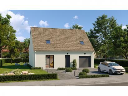 Modèle de maison Combles GI 3 ch Design 3 chambres  : Photo 1