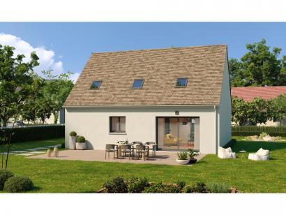 Modèle de maison Combles GI 3 ch Design 3 chambres  : Photo 2