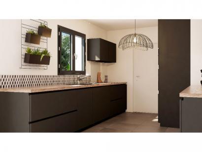 Modèle de maison Combles GI 3 ch Design 3 chambres  : Photo 4