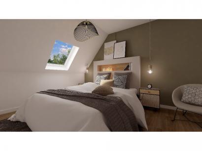 Modèle de maison Combles GI 3 ch Design 3 chambres  : Photo 5