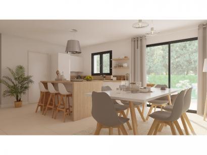 Modèle de maison Combles GA 4 ch Trendy 3 chambres  : Photo 4