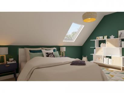 Modèle de maison Combles GA 4 ch Trendy 3 chambres  : Photo 8