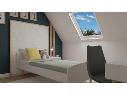 Modèle de maison Combles GA 4 ch Trendy 3 chambres  : Photo 9
