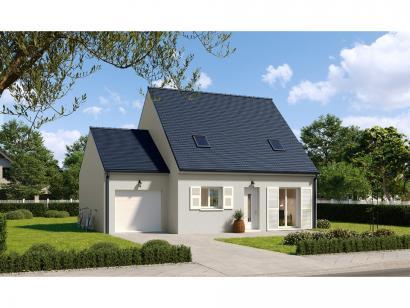 Modèle de maison Combles GA 4 ch Trendy 3 chambres  : Photo 1