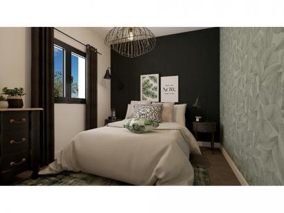 Modèle de maison Etage GI 4 ch Design 4 chambres  : Photo 7