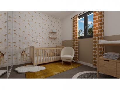 Modèle de maison Etage GI 4 ch Design 4 chambres  : Photo 8