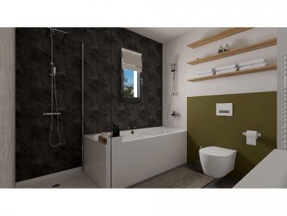 Modèle de maison Etage GI 4 ch Design 4 chambres  : Photo 9
