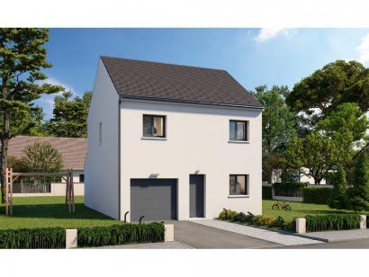 Modèle de maison Etage GI 3 ch Design 3 chambres  : Photo 1