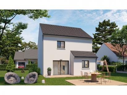 Modèle de maison Etage GI 3 ch Design 3 chambres  : Photo 2