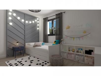 Modèle de maison Etage GI 3 ch Design 3 chambres  : Photo 7
