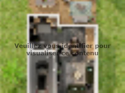 Plan de maison Etage GI 4 ch Trendy 4 chambres  : Photo 1