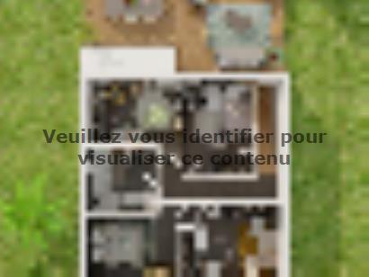 Plan de maison Etage GI 4 ch Trendy 4 chambres  : Photo 3