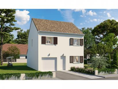 Modèle de maison Etage GI 3 ch Trendy 3 chambres  : Photo 1